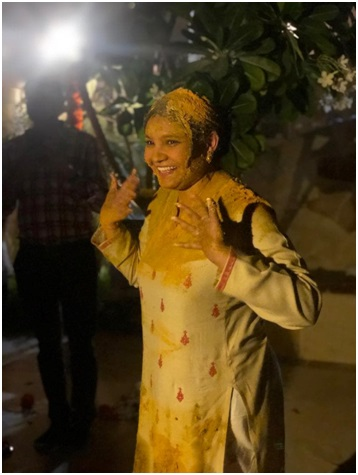 Turmeric Ceremony: My big fat Indian wedding and all its beauty rituals: Part 1